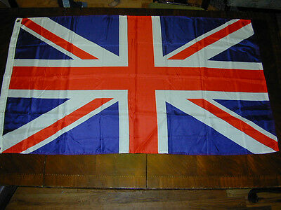 """United Kingdom Country Flag 59""""X34""""Blue Red Wall Decor Patriotic Show Your Pride"""
