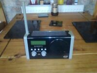 roberts sola dab portable radio