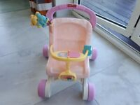 Fisher Price Stroller/ baby walker.