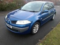 07 Renault Megane dynamique mint great service history with receipts driving perfect no faults mot,d