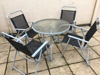 Patio set - ideal for Easter
