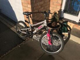 """Girls 20"""" Apollo mountain bike"""