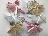 Monsoon ballerina hair clips brand new