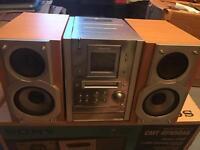 Panasonic mini disk stereo hi fi