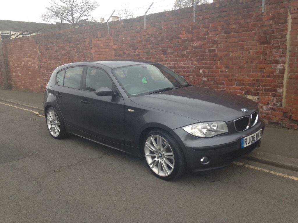 bmw 1 series 118d 06plate grey in thornaby county. Black Bedroom Furniture Sets. Home Design Ideas