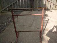 TRESTLES Used Adjustable steel builders trestles