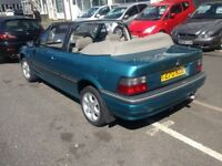 99T ROVER 216 CABRIOLET 1.6 GEN 43,922 MILES HISTORY MINT COND £1995