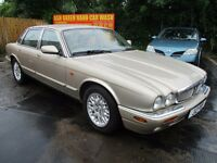 2000 JAGUAR XJ8 3.2 V8 AUTO LEATHER HEATED SEATS PURE COMFORT ALLOYS A/C SH FULL MOT ON SALE!