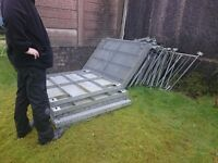 Disabled Ramp galvenised steel.