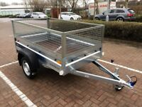 Faro Pondus car box trailer + 40 cm mesh side 750kg