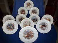 Coalport Commemorative Christmas Plates