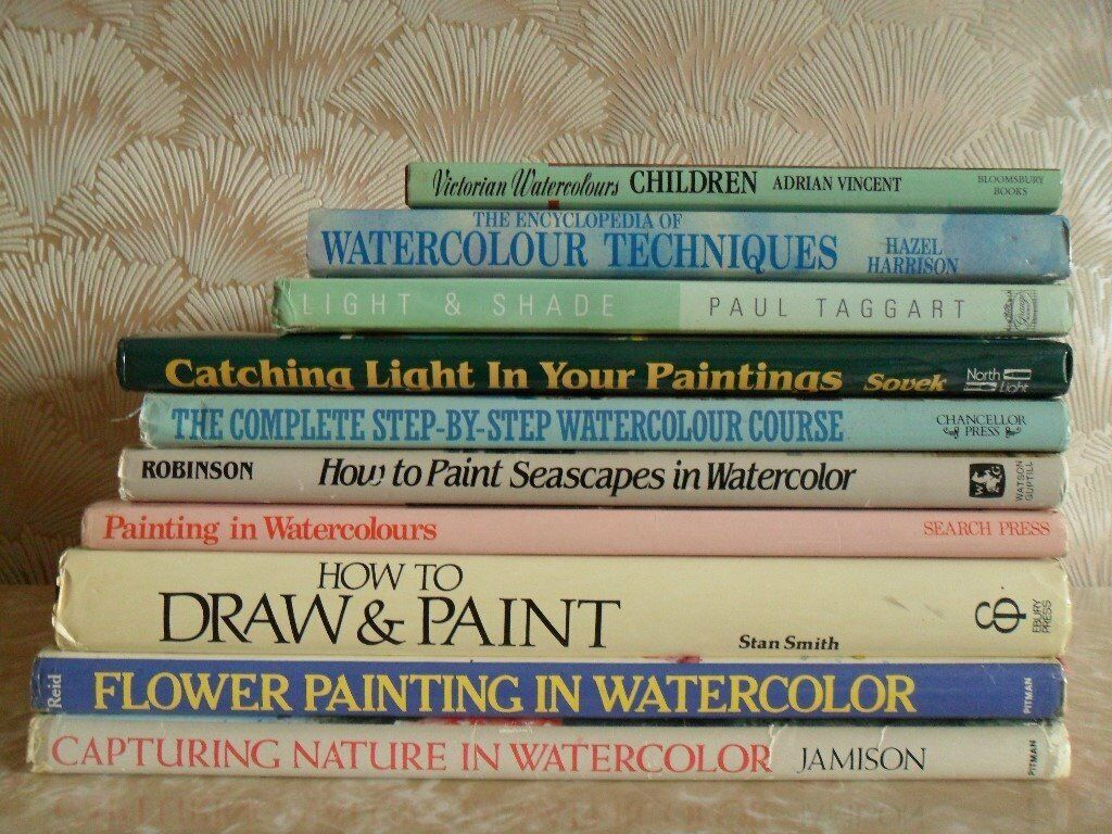Watercolor books by search press - Artist Books Oil Painting Water Painting Drawing Etc See Seven Images
