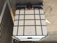IBC Tank Water/Liquid Container 1000 Litres