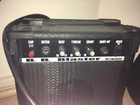 Electric guitar and amp - collect from Chelsea