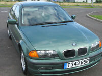 1999 BMW 318 1.9i SE GREEN SALOON E46 MANUAL 98k only