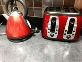 Kitchen bundle kettle toaster etc