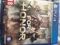 For honor PS4 game