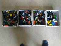 Around 5kg of mixed Lego bricks - bricks, bionicle and minifigures