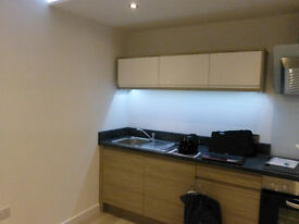 New apartment for rent. 1 double and 1 single bedroom, 1 en-suite shower room and 1 family bathroom.