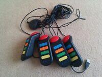 4 USB PS2 Buzz Controllers PlayStation 2 - B23 - Erdington