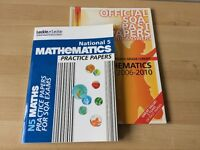 National 5 maths practice papers book