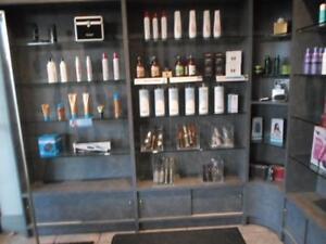 hair salon closing down sale / nail salon closing down sale / hair cutting chairs / spa pedicure chairs / washer dryer