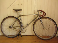 Foffa premium chrome fixie fixed gear / single speed bike 48 cm frame (small), nearly new