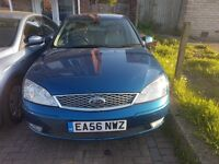 Ford Mondeo 2.0 TDCI Ghia X 5dr Blue, Mileage Under 100K, IN GREAT CONDITION