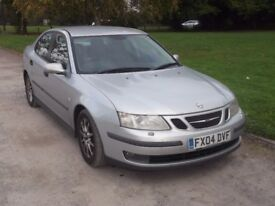 2004 SAAB 9-3 2.2 TID, MOT SEPTEMBER 2018, ONLY £595