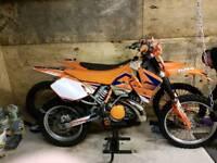 Ktm exc 250cc 2002 model
