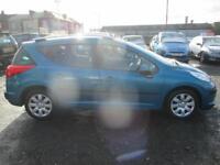 PEUGEOT 207 1.4 VTi S 5dr (blue) 2009