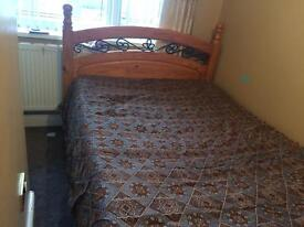 Double bed and matters