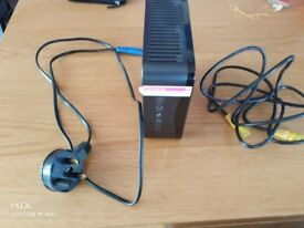 sky router (model SR102) with power cable