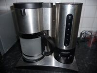 Cloer Stainless Steel Coffee Machine Only Used Once !