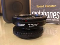 Metabones Canon EF Lens to Micro Four Thirds Speed Booster S ULTRA 0.71