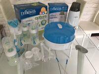 Baby warmer and steriliser kit dr brown