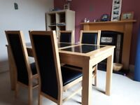 Elegant & Practical - Dining Table and Chairs