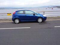Fiat Grande Punto,2007,one years mot,52000 miles