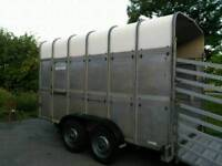 Ifor williams livestock trailer 12ft, extra height Cattle, sheep, horses, Alpaca