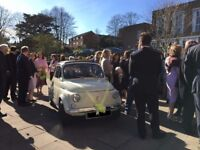 Classic car *FIAT 500* for wedding hire (and other uses)