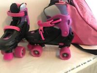 roller skates with carrying bag