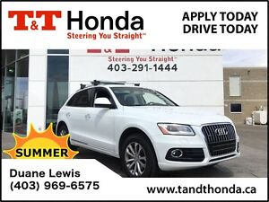 2016 Audi Q5 **C/S**2.0T Progressiv *No Accidents, Leather,