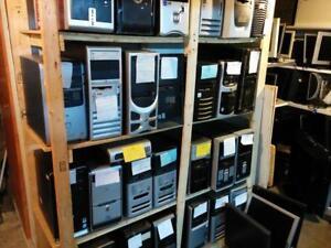 Ordinateur reconditionné - 2gigs mémoire - disque dur de 80 gigs