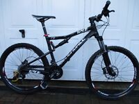 Cannondale RZ120 mountain bike full suspension