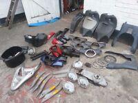 piaggio and vespa parts liberty et2 et4 x9 beverly gt125 LX