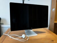 "Apple 27"" LED Cinema Display - Perfect Condition"