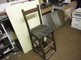 VINTAGE BRITHSH RAILWAYS CHAIR
