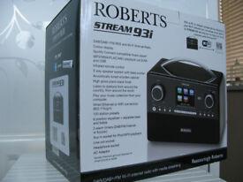 Roberts Stream 93i DAB Radio Brand New !!