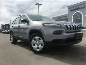 2016 Jeep Cherokee Sport 3.2L V6 9 speed