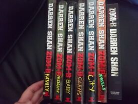 Darren Shan zom-b book lot